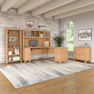 Shop For Lumley 4 Piece L-shaped Desk Office Suite ByRed Barrel Studio
