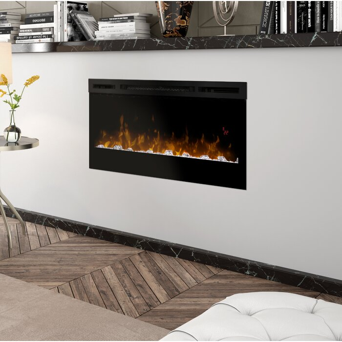 wall fireplace roomsetting linear products series valor glass