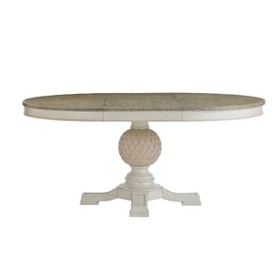 Savings Preserve Artichoke Pedestal Extendable Dining Table ByStanley Furniture