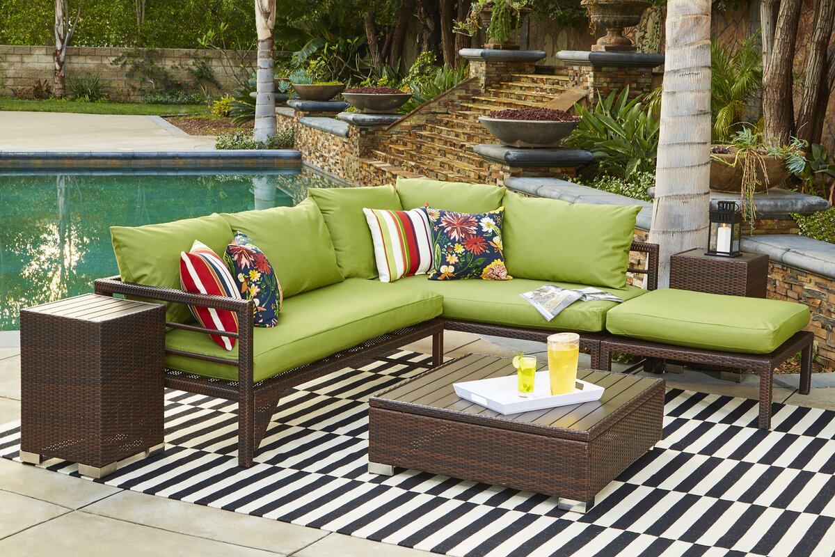 Save 60 Off Ellie Sunbrella Sectional Set With