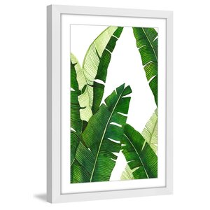 'Banana 1' by Dantell Framed Painting Print by Marmont Hill