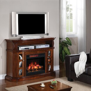 Rena TV Stand for TVs up 60 to with Electric Fireplace