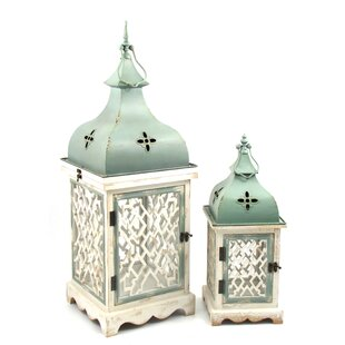 Best Reviews 2 Piece Lantern Set By Ophelia & Co.