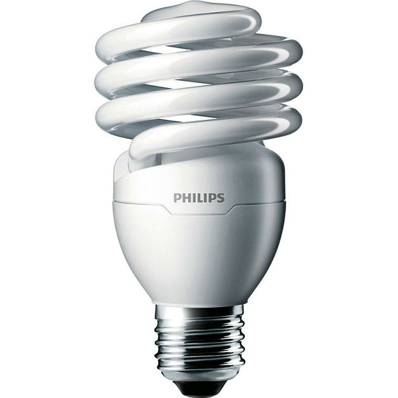 Philips 23 Watt T2 Compact Fluorescent Cfl Non Dimmable Light Bulb E26 Medium Standard Base Reviews Wayfair
