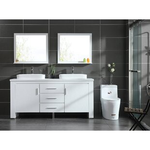 Groovy Modern 72 Inch Solid Wood Bathroom Vanities Allmodern Home Interior And Landscaping Ferensignezvosmurscom