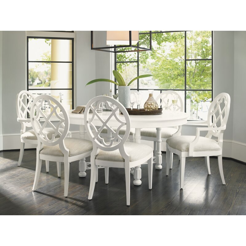 Tommy Bahama Home Ivory Key Solid Wood Dining Chair Reviews Wayfair