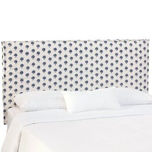 Sylvaner Upholstered Panel Headboard by Beachcrest Home