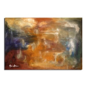 Smash XVII' Oversized Painting Print on Canvas by Ready2hangart