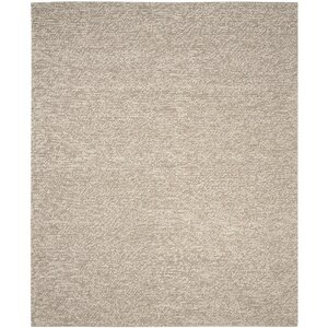 Bathild Hand-Tufted Beige Area Rug