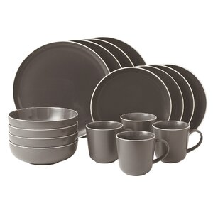 Bread Street 16 Piece Dinnerware Set, Service for 4
