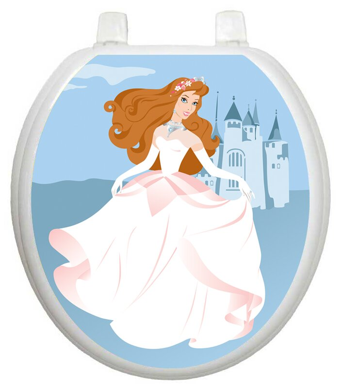 Youth Fairy Princess Toilet Seat Decal