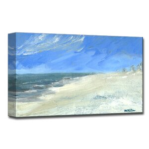 'Calm Shores' Painting Print on Wrapped Canvas by Highland Dunes