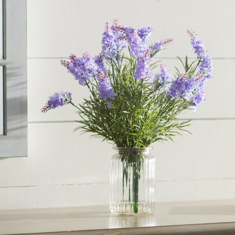 Ophelia & Co. Lavender Heather Arrangement | Wayfair