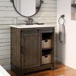 """Burnette 30"""" Single Bathroom Vanity Set"""