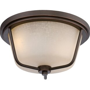 Big Save Bernville 2-Light Flush Mount By Gracie Oaks