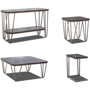 Hattie 4 Piece Coffee Table Set 17 Stories Savings Cleaning A