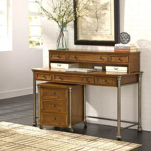 Best Reviews Kibbe Desk with Hutch By Red Barrel Studio