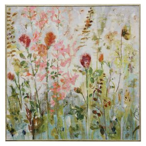 'Spring Medley' Framed Painting Print by Ophelia & Co.
