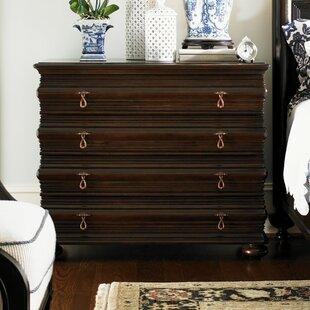 Affordable Royal Kahala 4 Drawer Sands Dresser ByTommy Bahama Home