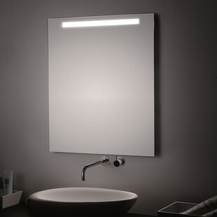 T5 LED Lighted Wall Bathroom Mirror