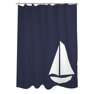 Coupon Vintage Sailboat Shower Curtain By One Bella Casa