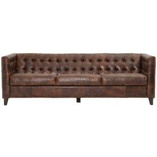 Fonteyne Leather Chesterfield Sofa
