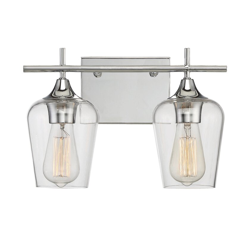 Zipcode Design Staci 2-Light Vanity Light & Reviews