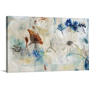 'Unexpected Flowers' by Jodi Maas Painting Print on Canvas by Great Big Canvas