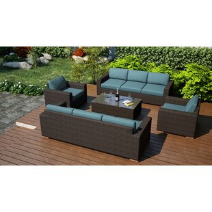 Hodge 5 Piece Sofa Set with Cushions ByRosecliff Heights