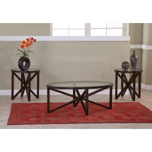 Compare Obadiah 3 Piece Coffee Table Set By Latitude Run