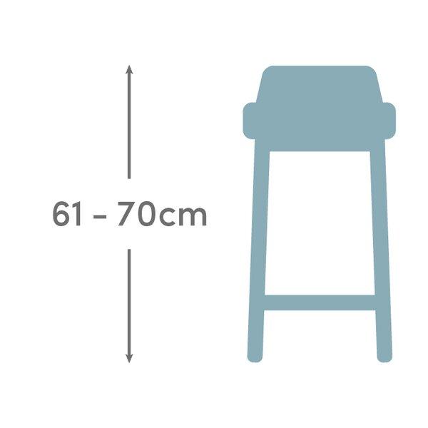 Tresenhöhe tresenhöhe 61 70 cm stil retro wayfair de