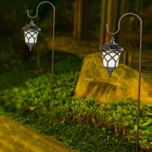 Read Reviews Hanging Solar 1-Light Pathway Light (Set of 2) By Winsome House
