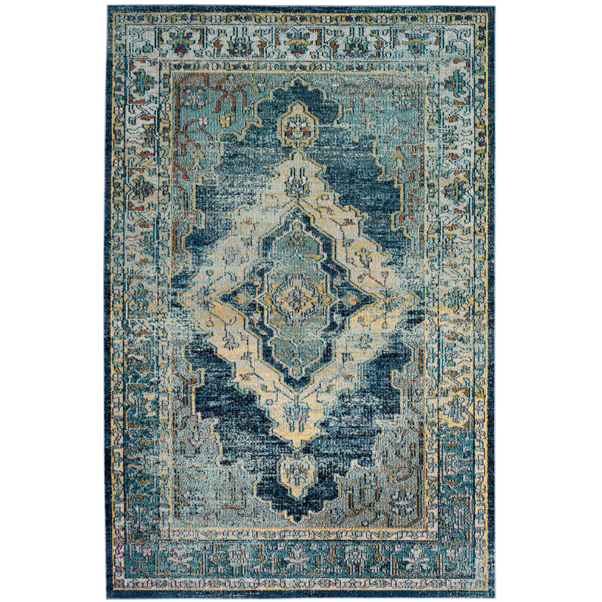 Charlton Home Michiana Oriental Blue