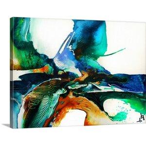 'Impulse III' Graphic Art on Canvas by Mercury Row