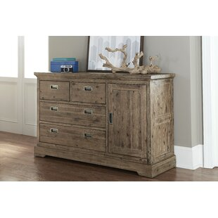 Bryon 4 Drawer Dresser with Door by Viv   Rae