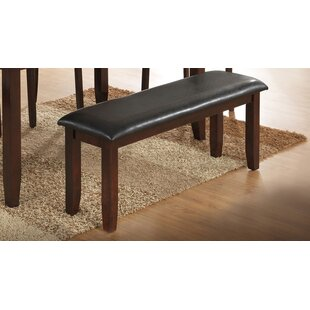 Thorson Faux Leather Bench