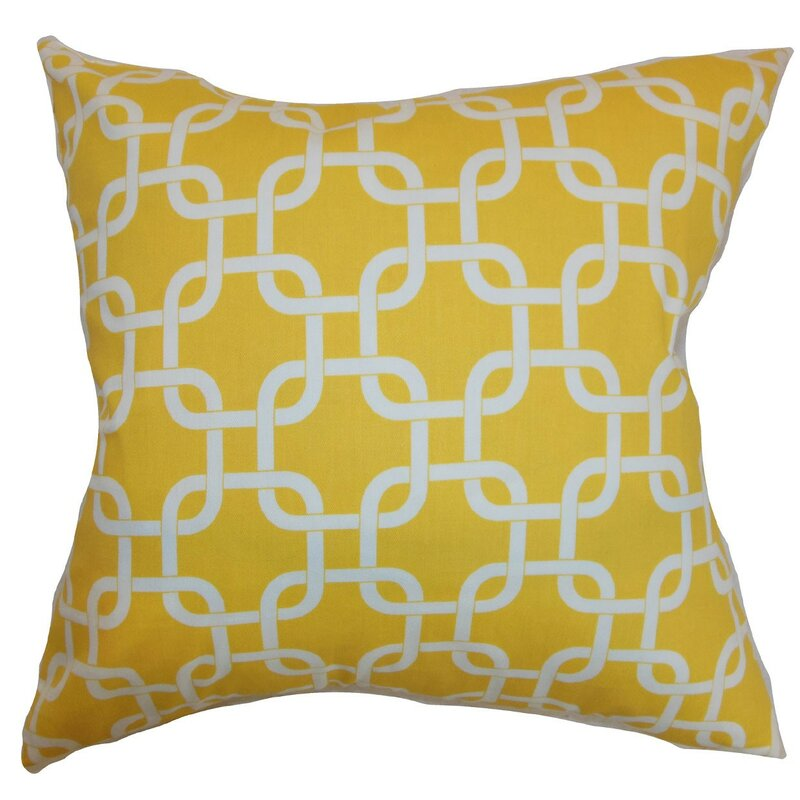 Qishn Geom Throw Pillow Cover