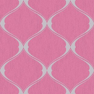 Bourget 33 X 20 Trellis 3D Embossed Wallpaper Roll