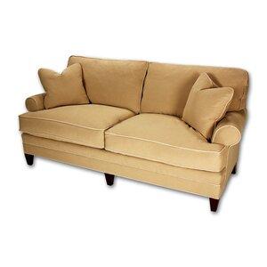 Short Loose Pillow Back Sofa Classic Comfort