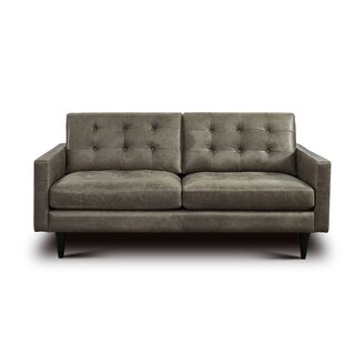 Whittemore Leather Loveseat by Foundry Select SKU:CC198120 Details