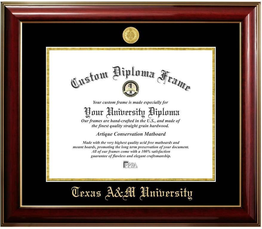 Diploma Frame Deals Texas A & M University Classic Diploma Picture ...
