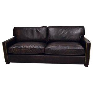 Amesbury Leather Sofa Trent Austin Design