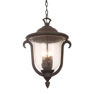 Compare & Buy Santa Barbara 3-Light Outdoor Hanging Lantern By Kalco