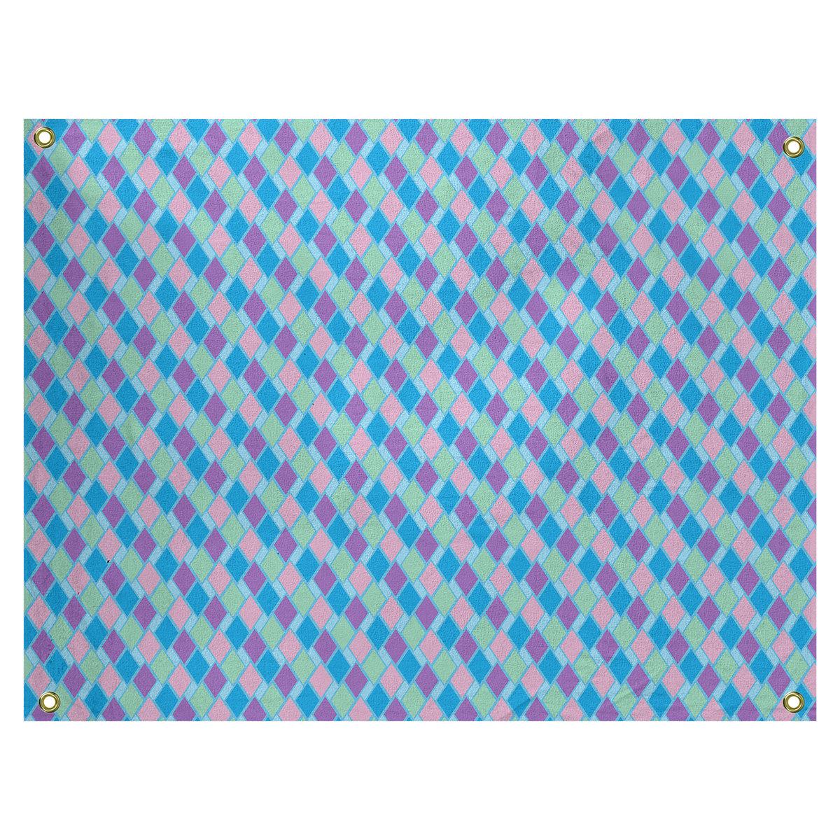 Latitude Run Avicia Retro Diamonds By Katelyn Elizabeth Tapestry Wayfair