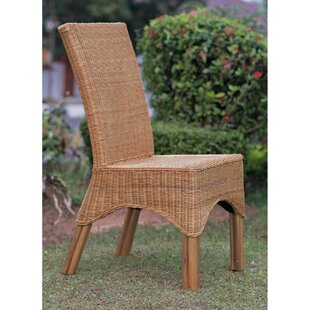 Kakopetria Rattan Dining Chair With Pole Legs