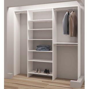 Find the perfect Demure Design 75W Closet System ByTidySquares Inc.