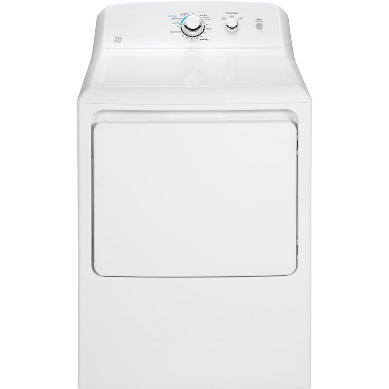 Ge Appliances 6 2 Cu Ft Electric Dryer With Aluminized