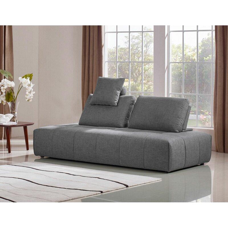 Orren Ellis Siris 42 Armless Sofa Bed
