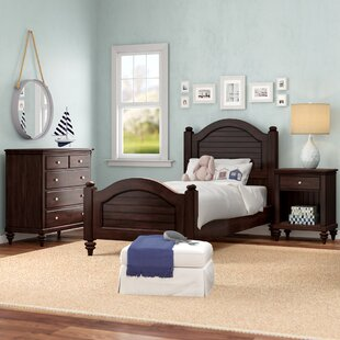 Harrison Traditional Twin Panel 3 Piece Bedroom Set By Beachcrest Home