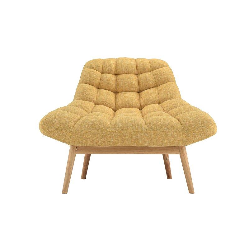 wilcoxen modern plush lounge chair allmodern